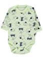 Civil Baby Çıtçıtlı Badi Yeşil
